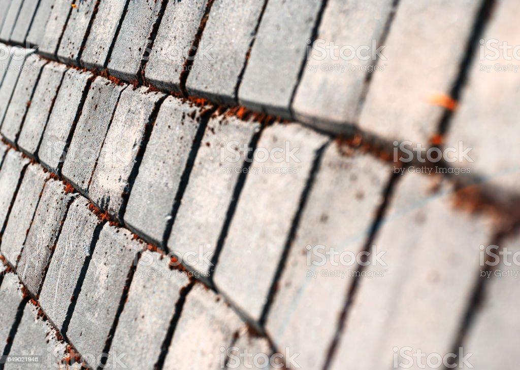 Diagonal cold pavement texture background stock photo