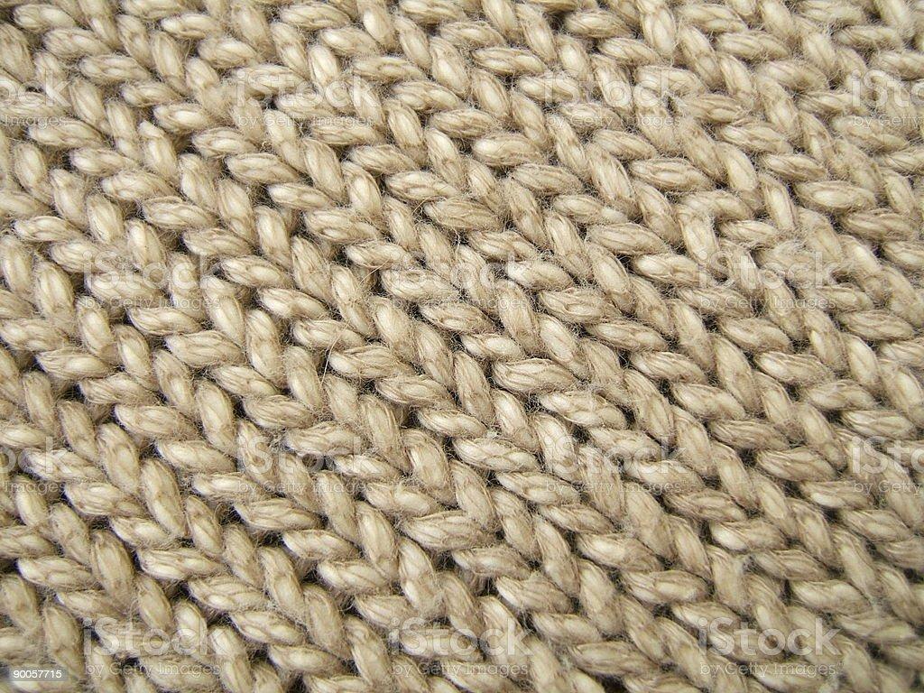Diagonal wool lines royalty-free stock photo