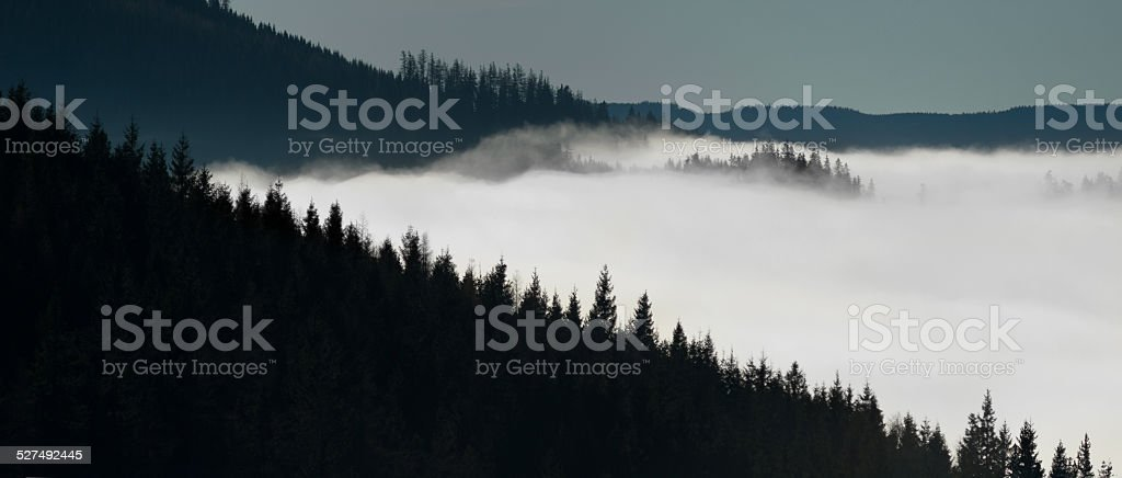 diagonalNebel stock photo