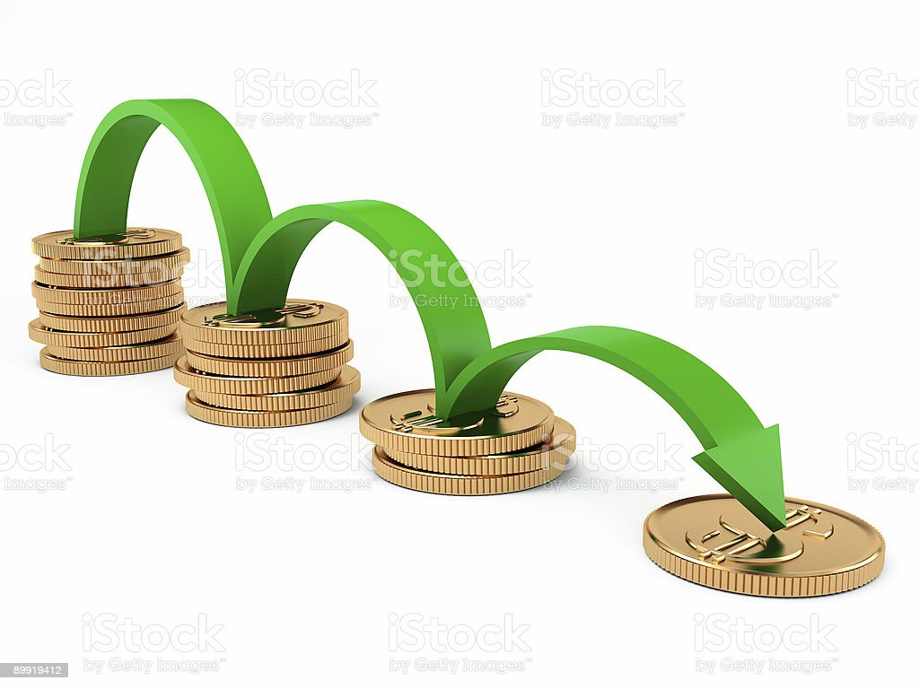 diagram of crisis stock photo