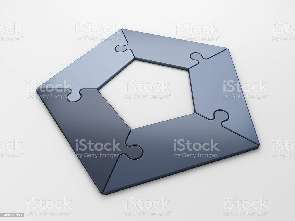 diagram with clipping path royalty-free stock photo