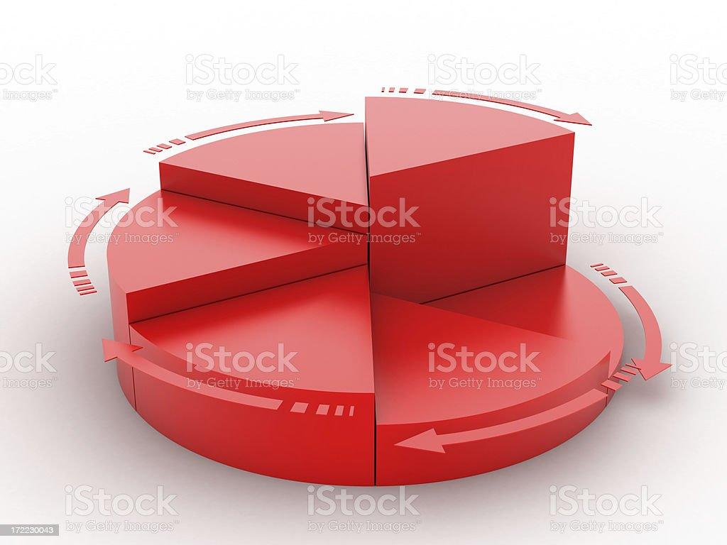diagramm royalty-free stock photo