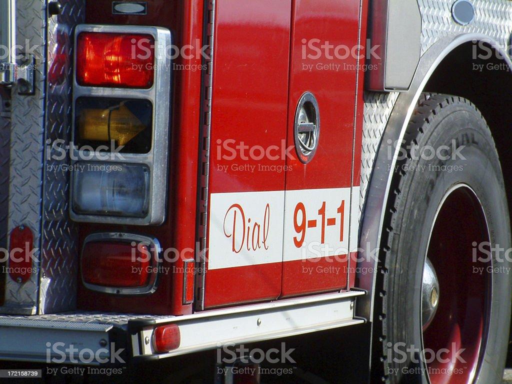 Dial 911 royalty-free stock photo