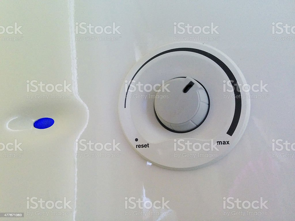 Dial and flame royalty-free stock photo