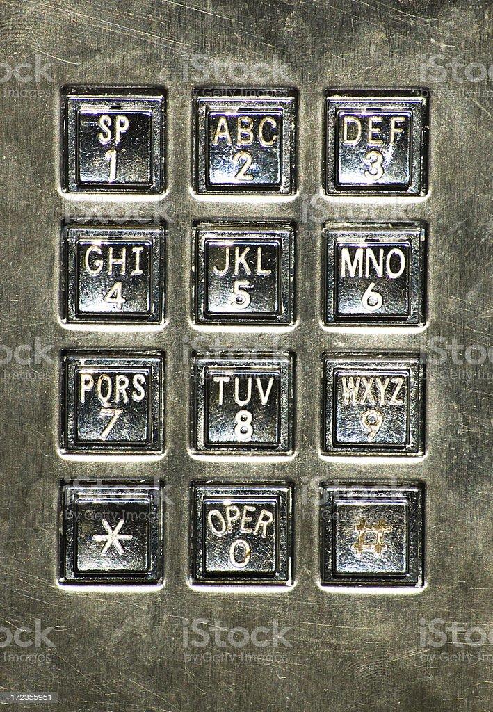dial pad royalty-free stock photo