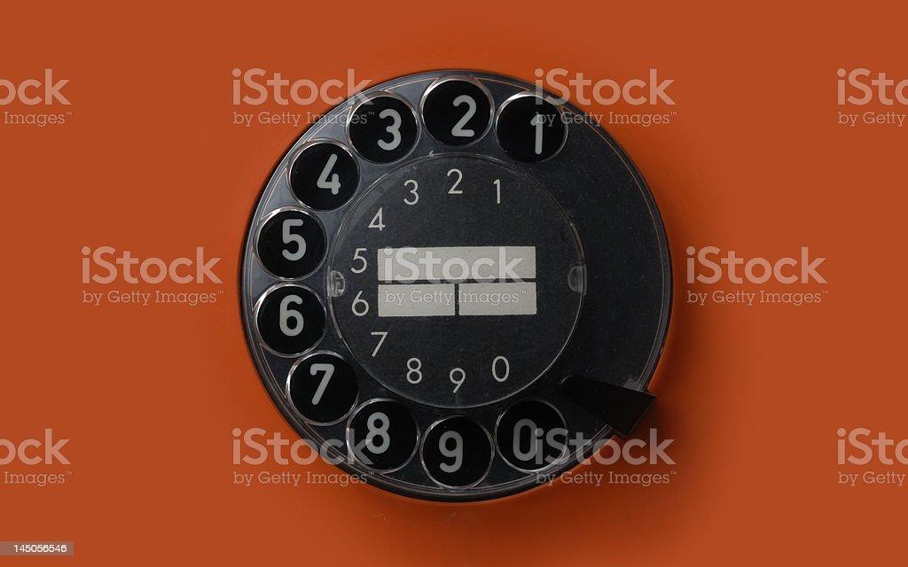 Dial royalty-free stock photo