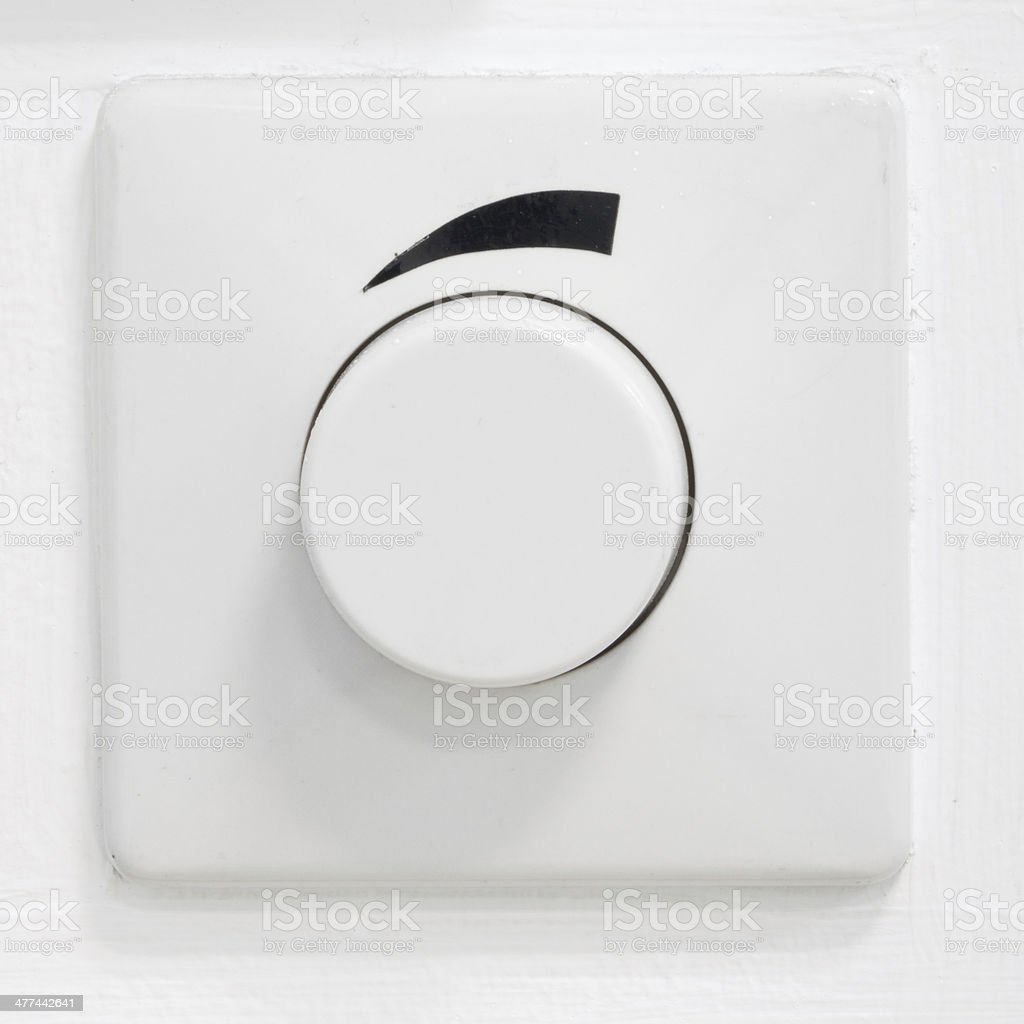 Dial Switch stock photo