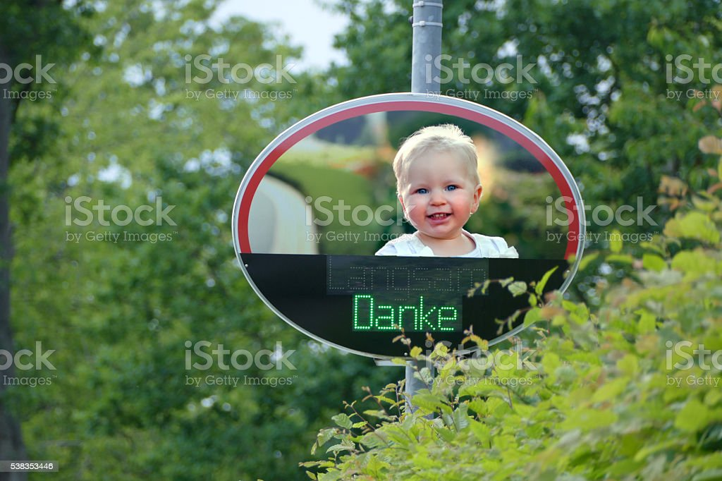 Dialog-Display  Traffic concept stock photo