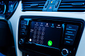 Dialpad in Apple CarPlay dashboard