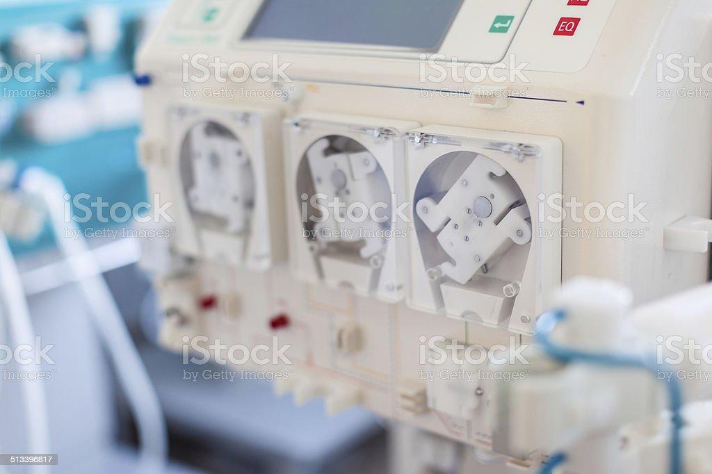 Dialyser pump stock photo