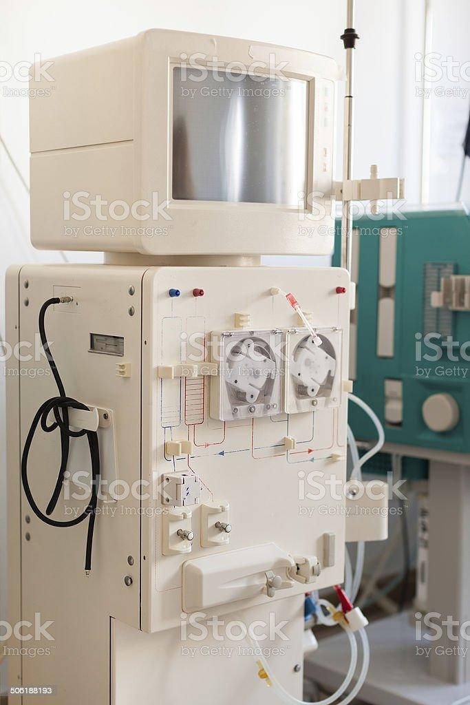Dialysis Device stock photo