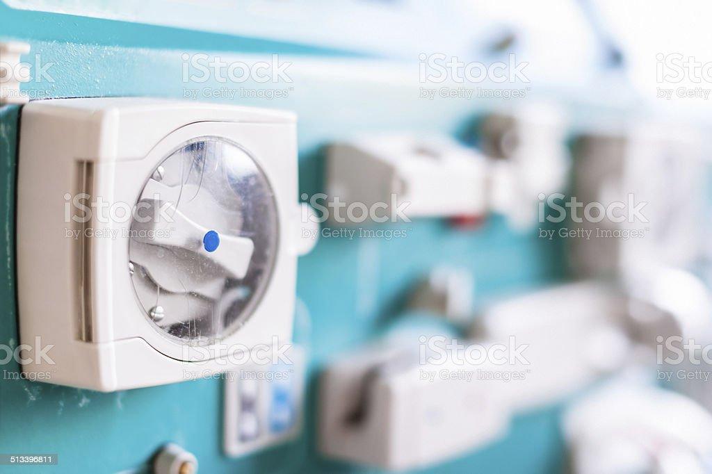 Dialysis pump stock photo