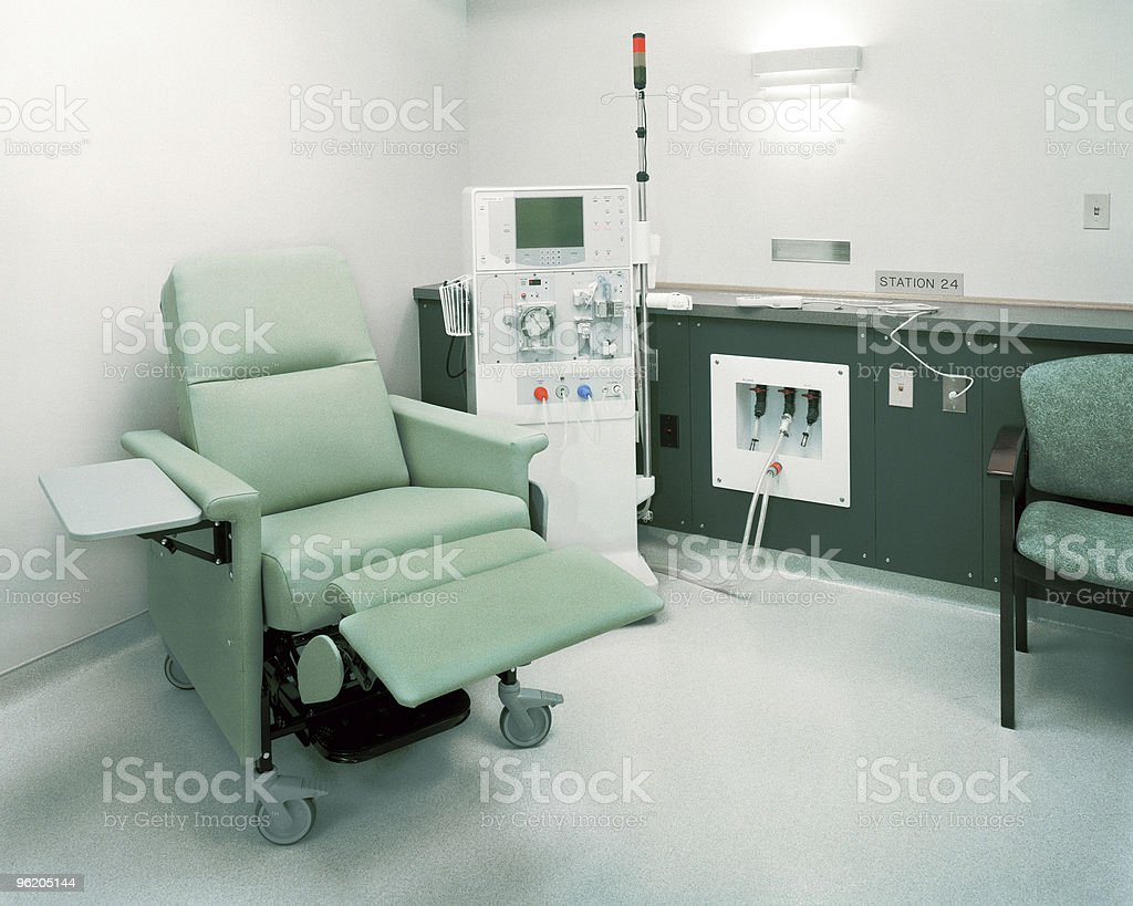 Dialysis Room stock photo