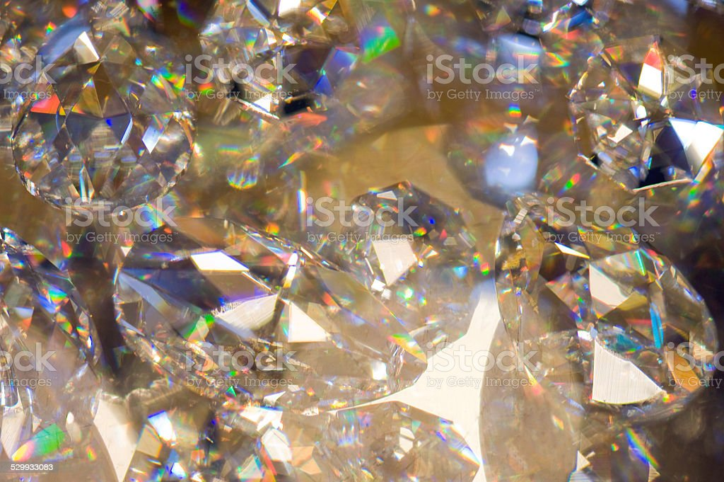 Diamond  background stock photo