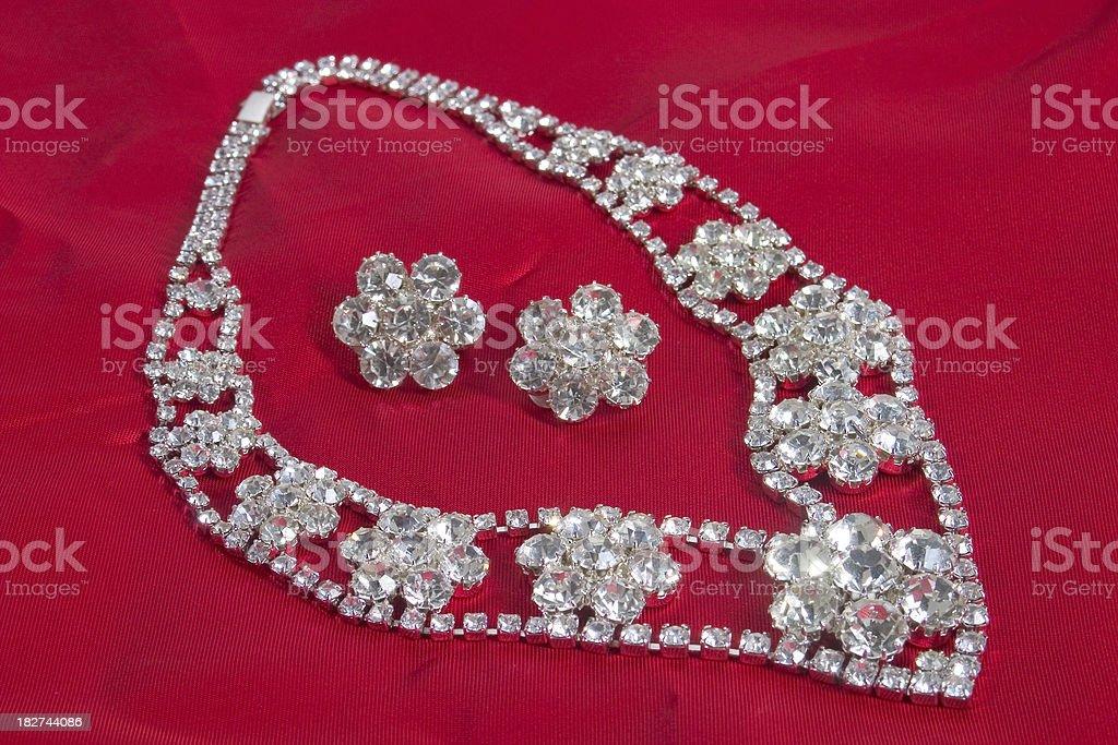diamond collier royalty-free stock photo