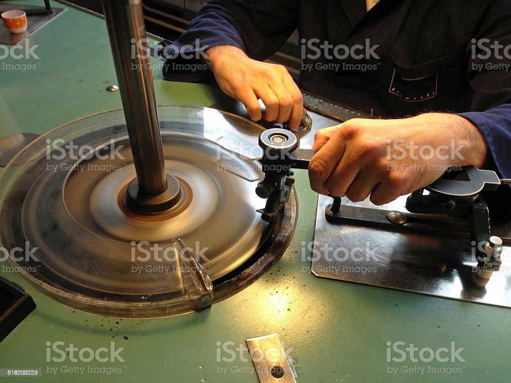 Diamond Cutting stock photo