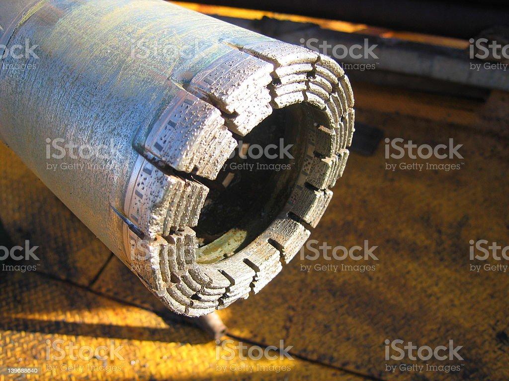 Diamond Drill Bit royalty-free stock photo