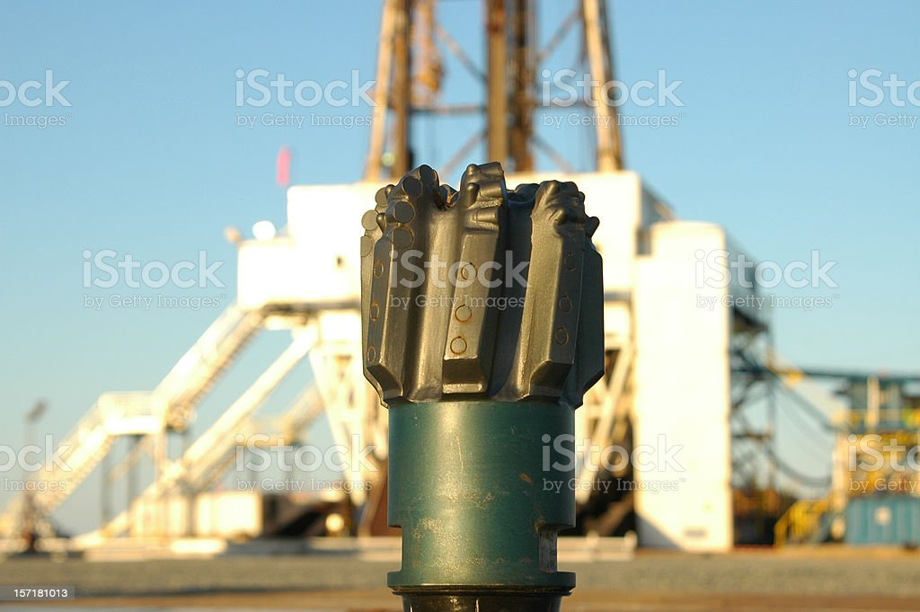 Diamond Drilling Bit stock photo