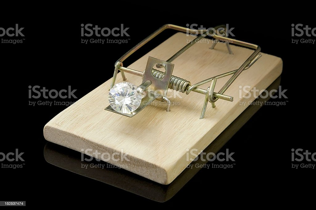 Diamond Einschluss Lizenzfreies stock-foto