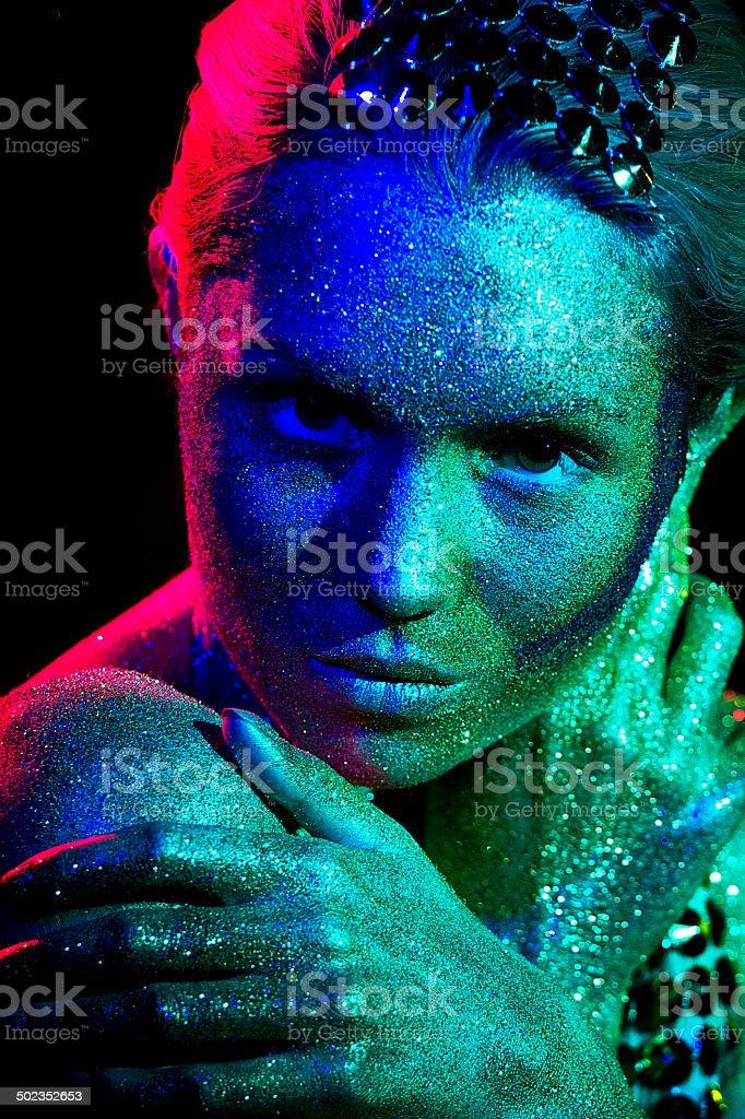 Diamond Girl royalty-free stock photo