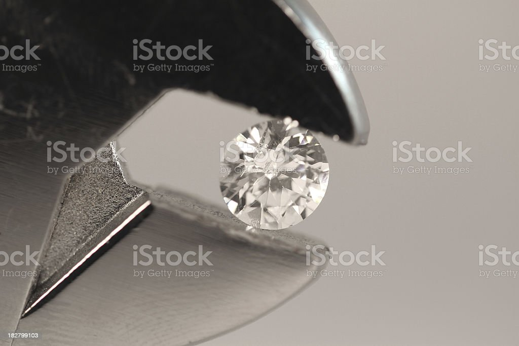 Diamond in the Jaws royalty-free stock photo