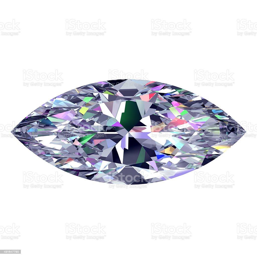 Diamond Marquise stock photo