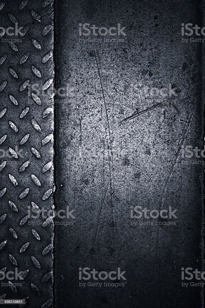 diamond metal plate background stock photo