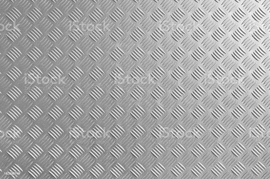 Diamond metal plate royalty-free stock photo