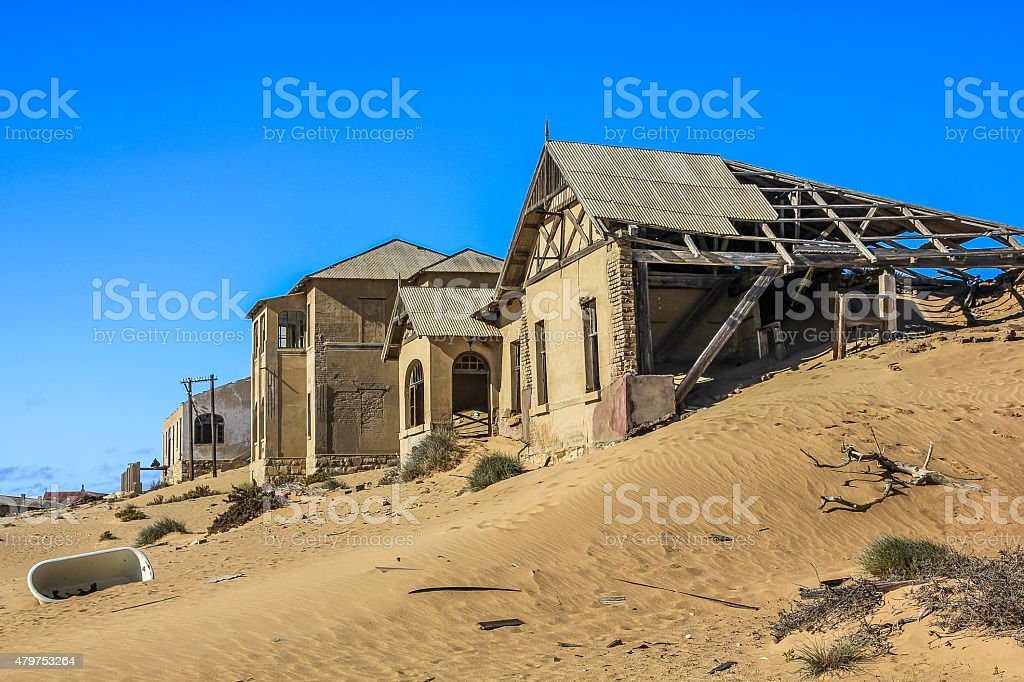 Diamond mines stock photo
