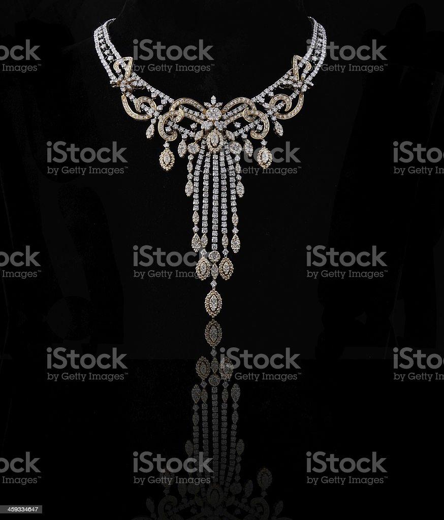 Diamond Necklace royalty-free stock photo