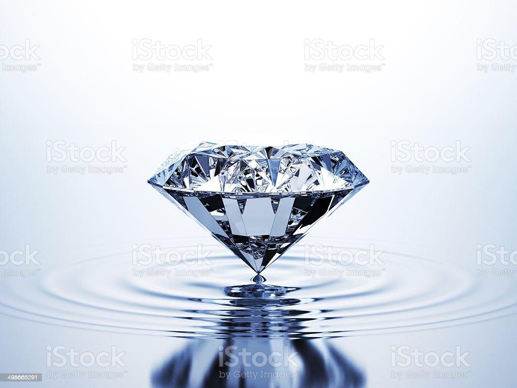 Diamond On The Water stock photo