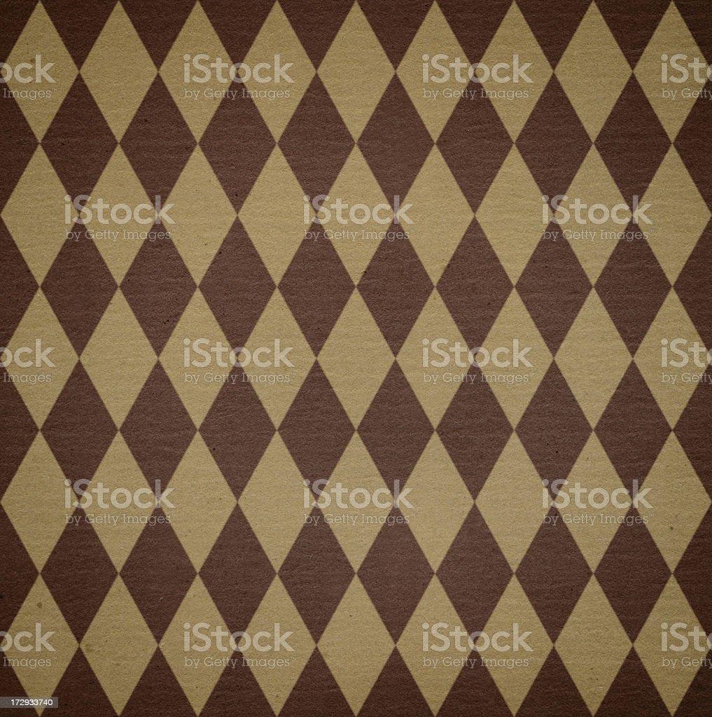 diamond pattern art paper stock photo