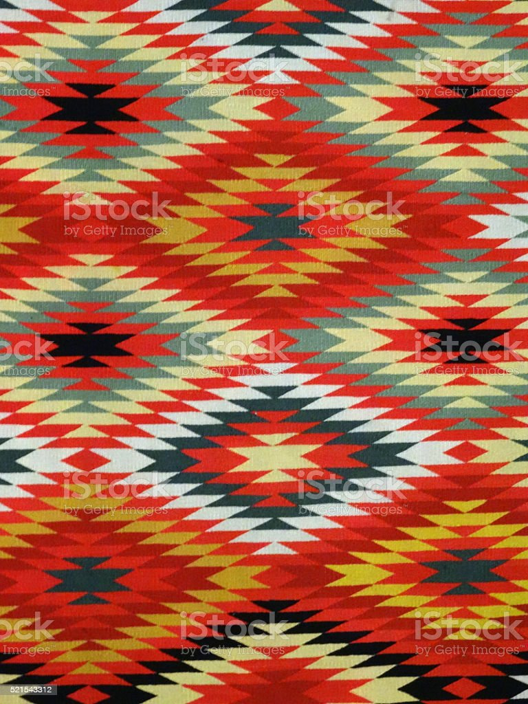 Diamond pattern Blanket Rug stock photo
