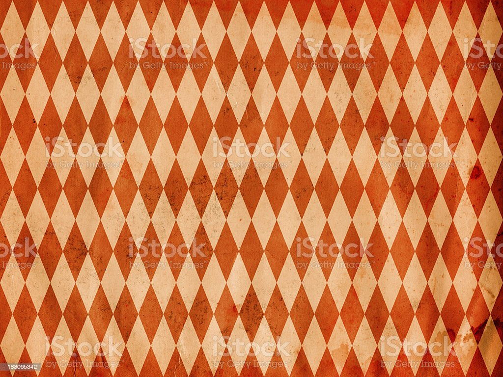 diamond pattern old paper royalty-free stock photo