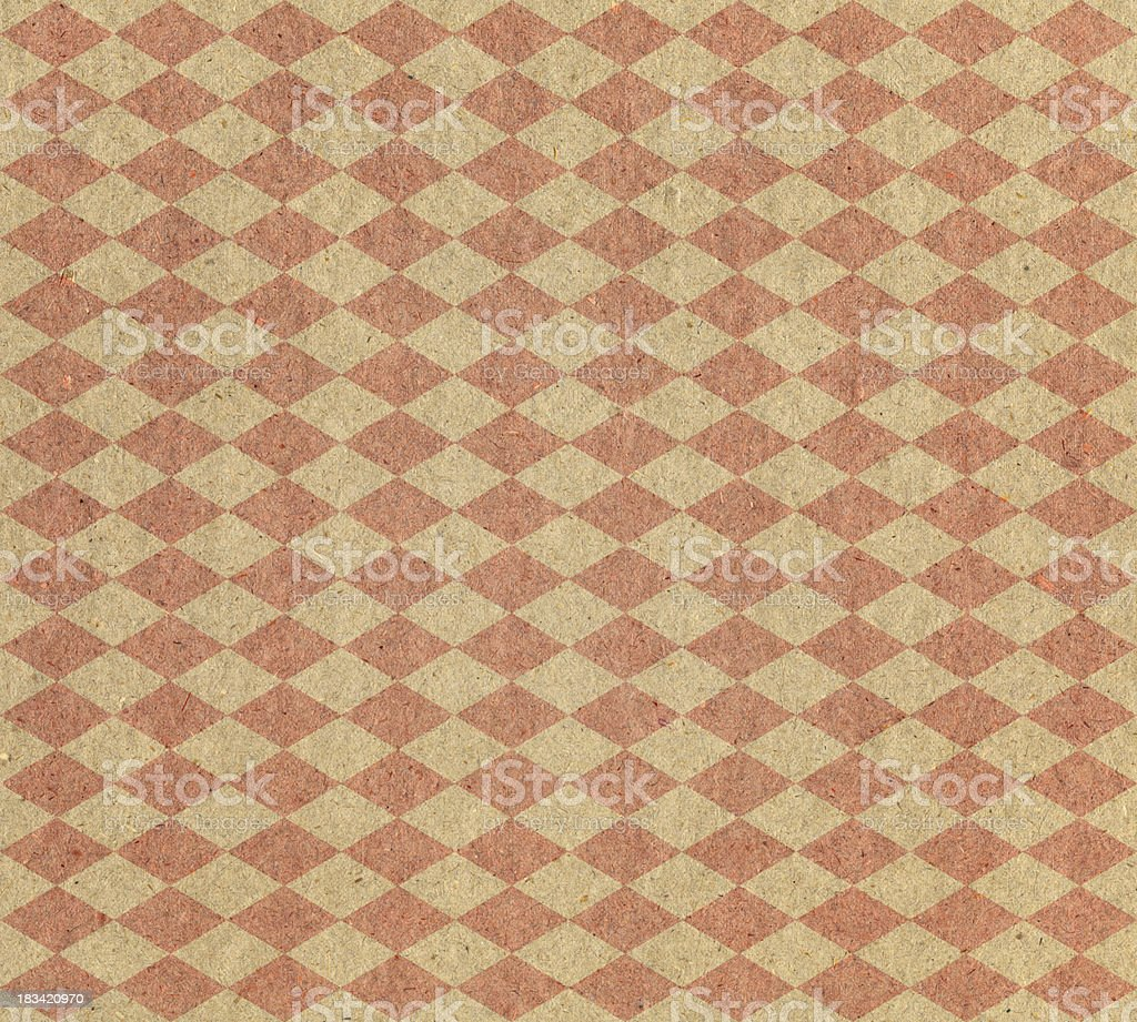 diamond pattern paper royalty-free stock photo