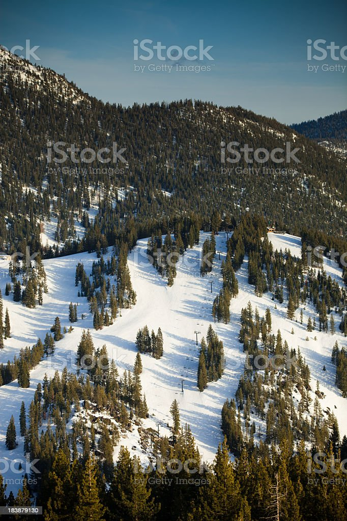 Diamond Peak Ski Resort royalty-free stock photo
