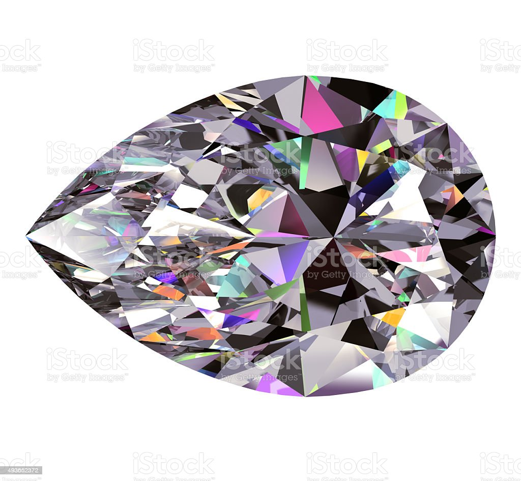 Diamond Pear stock photo
