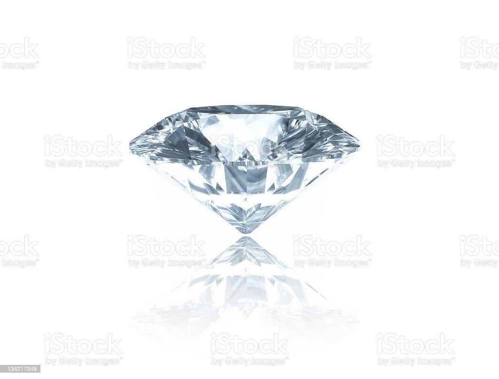 Diamond royalty-free stock photo