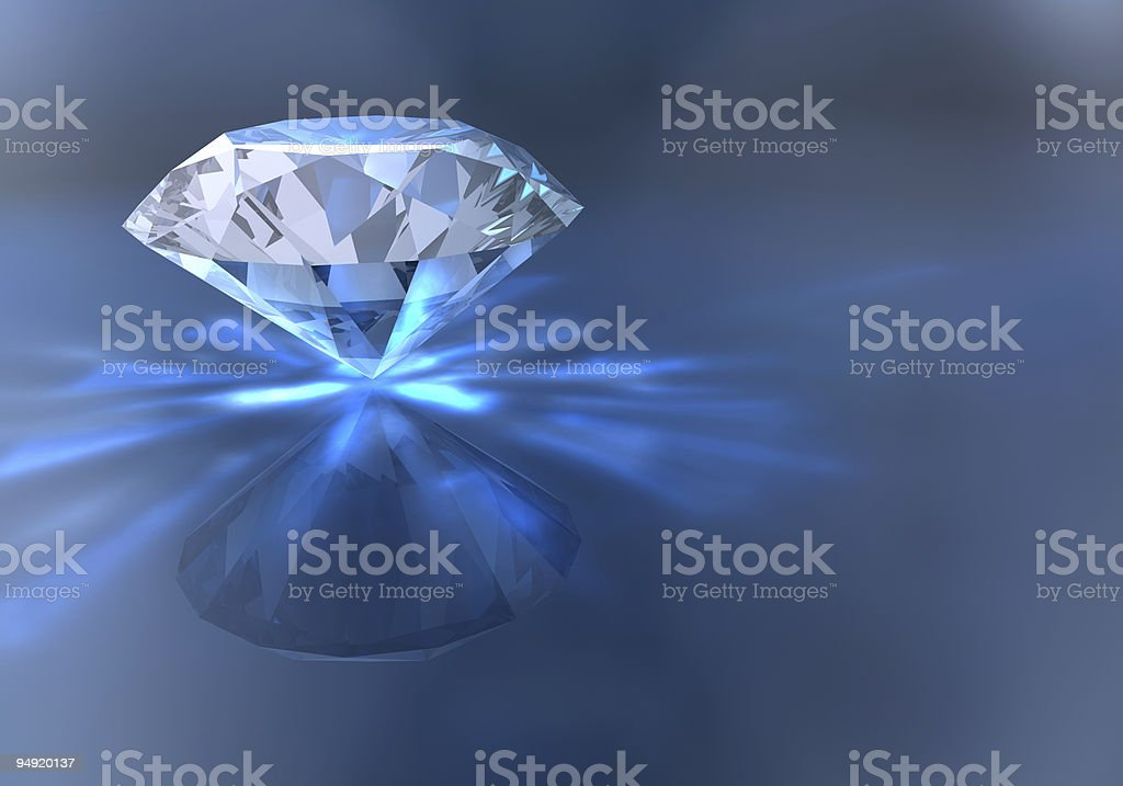 Diamond royalty-free stock photo