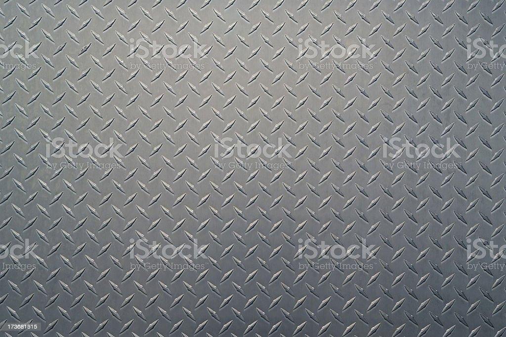 Diamond Plate Background stock photo