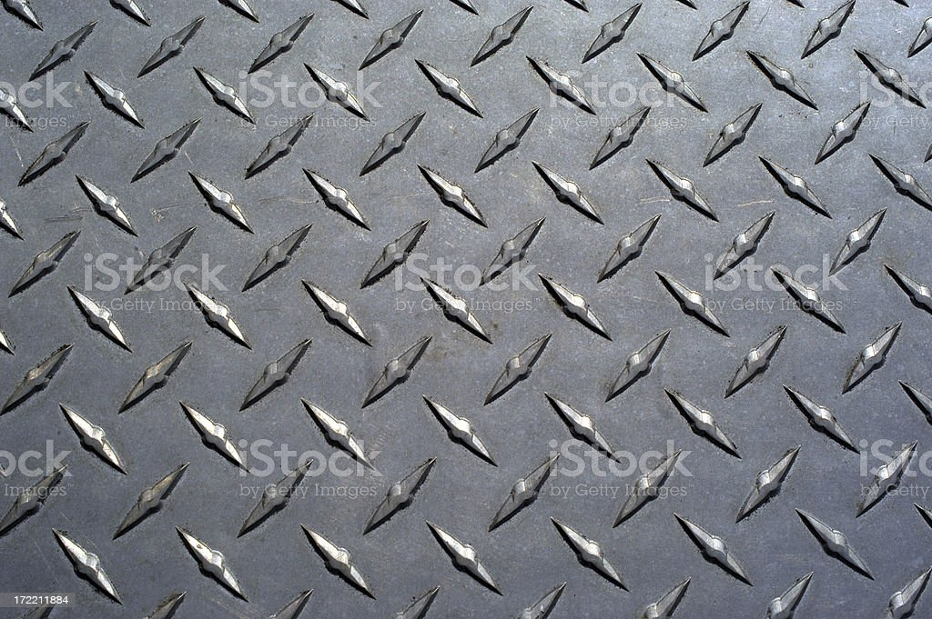 Diamond Plate close up royalty-free stock photo