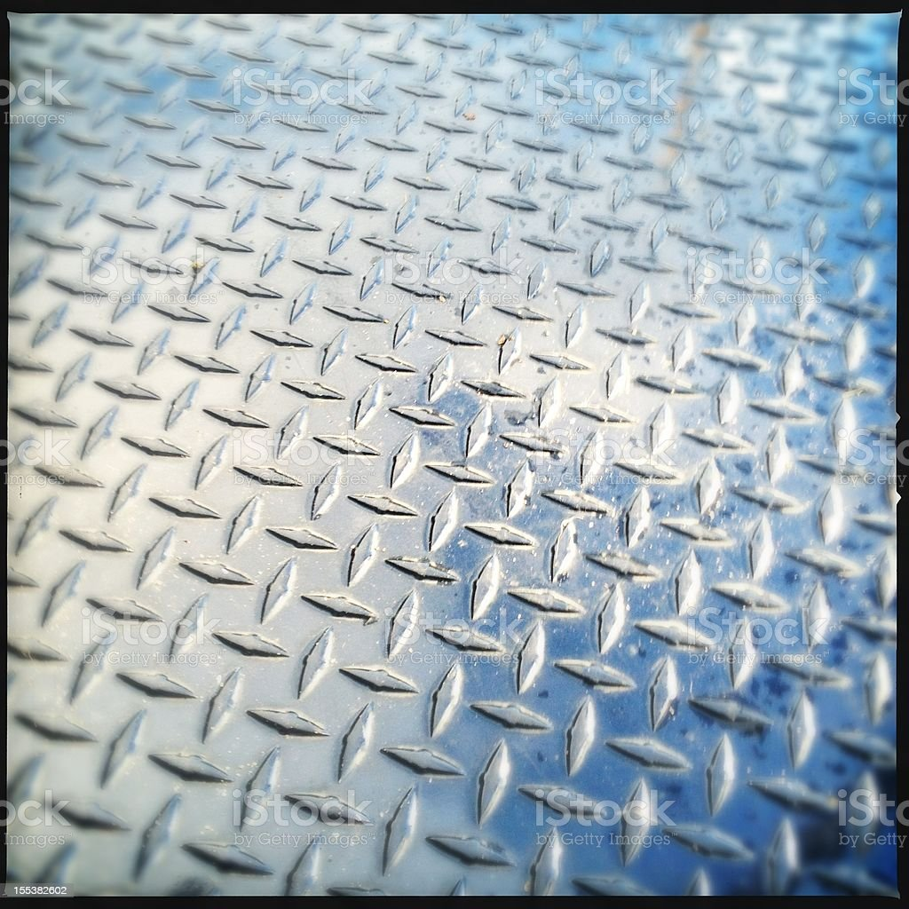 Diamond Plate stock photo