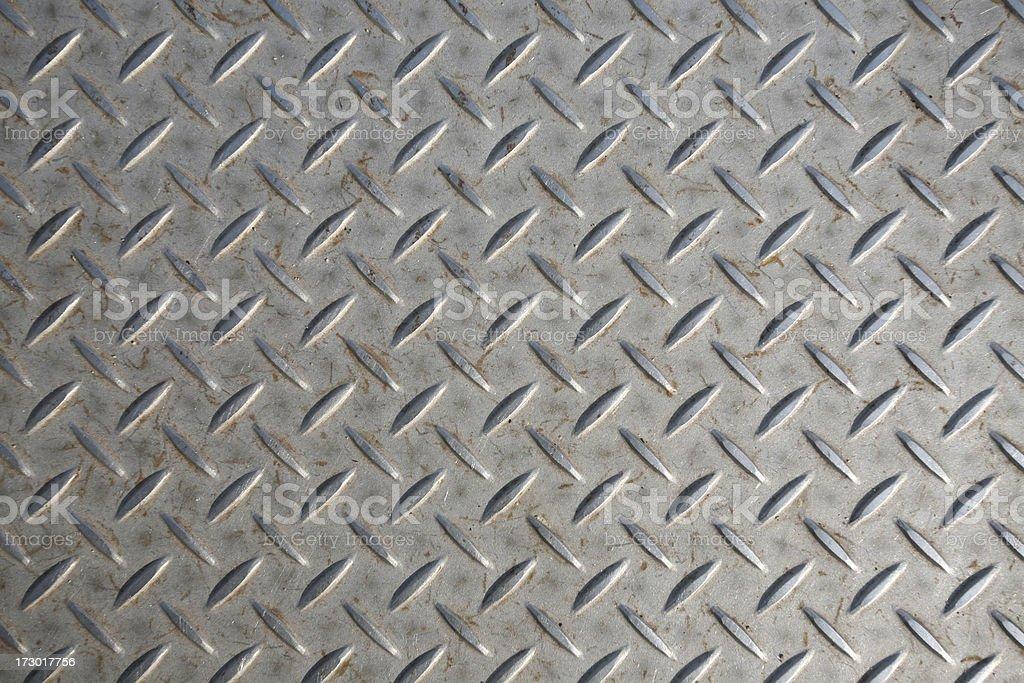 Diamond Plate stock photo