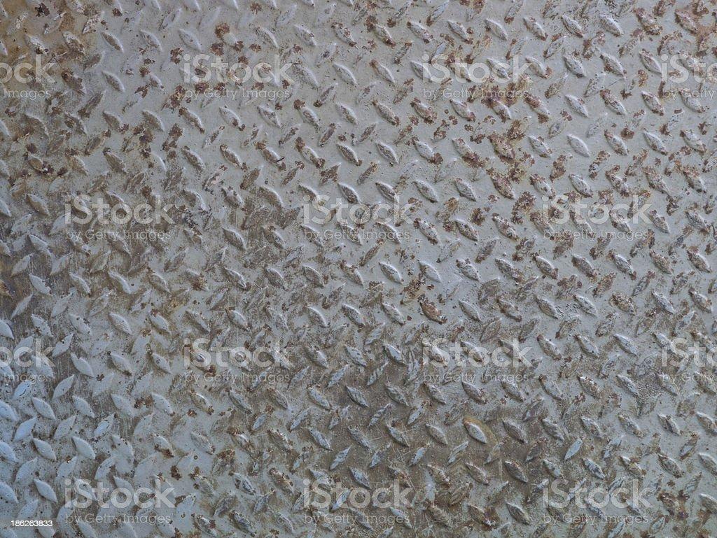 diamond plate royalty-free stock photo
