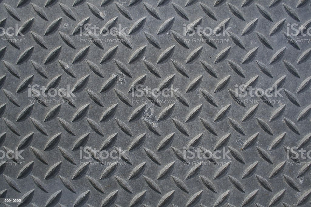 Diamond Plate royalty-free stock photo