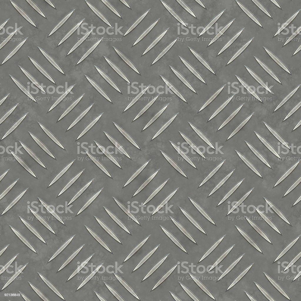 Diamond Plate Seamless Pattern royalty-free stock photo