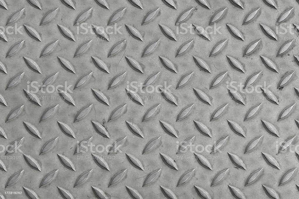 Diamond Plate Sheet Metal royalty-free stock photo