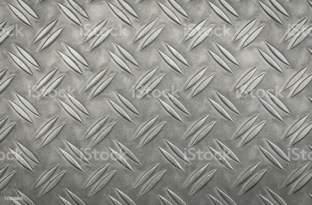 Diamond Plate Sheet Metal royalty-free stock photo