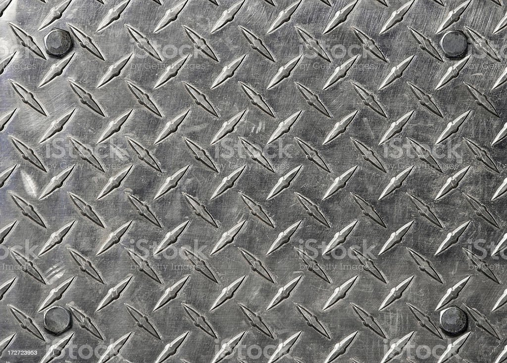 diamond plate steel background stock photo