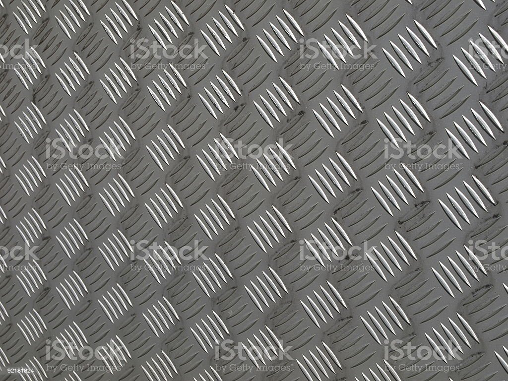 diamond plate steel background royalty-free stock photo
